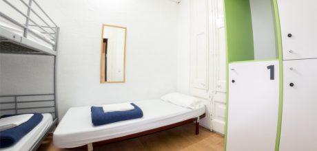 3-bed dorm - sant jordi hostels rock palace