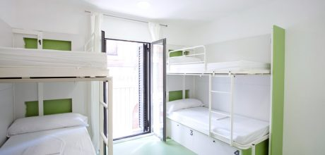4-bed dorm - gracia hostel barcelona