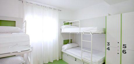 6-bed dorm - gracia hostel barcelona