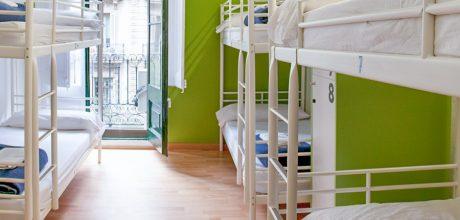 8-bed dorm - sant jordi hostels rock palace