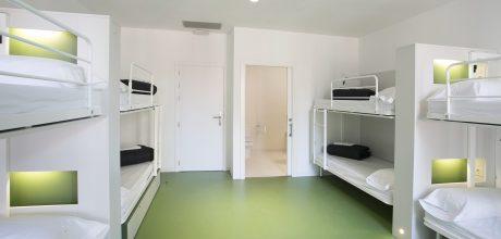 Sant Jordi Hostels Rock Palace 8 Bed Mixed Dorm Ensuite