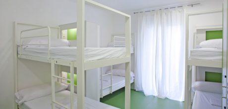 8-bed dorm - gracia hostel barcelona