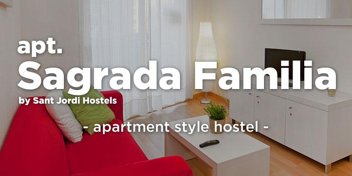 Apt. Sagrada Familia hostel button