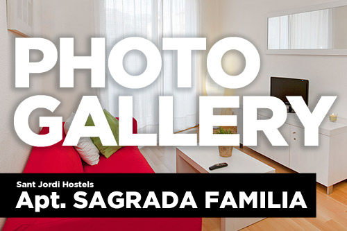photo gallery button - apt sagrada familia apartments in barcelona