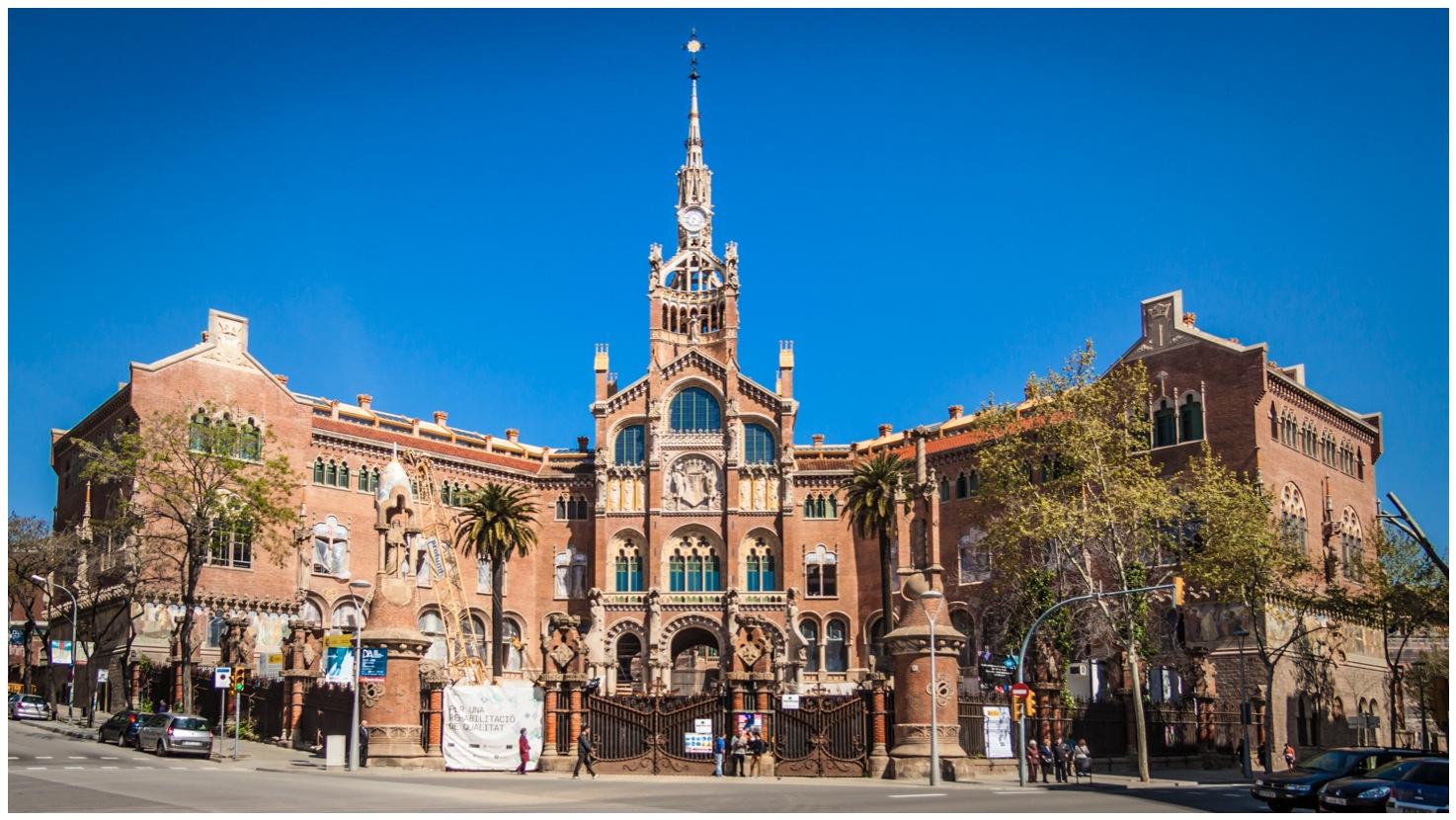 Barcelona Hospital de Sant Pau Barcelona Santa Creu i Sant Pau hospital
