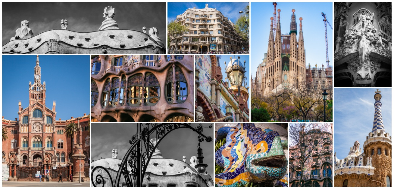 Barcelona Sites Collage
