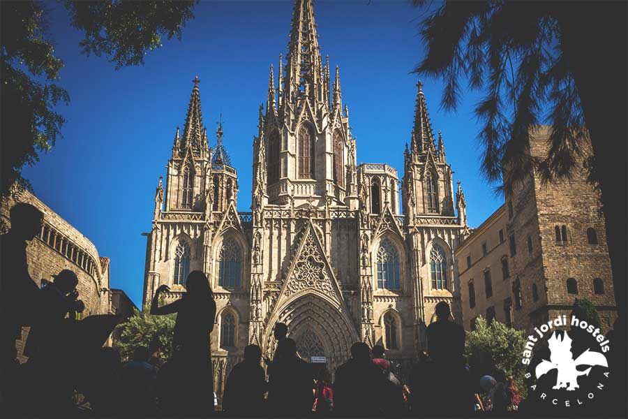 Barcelona Gothic Quarter - The Cathedral