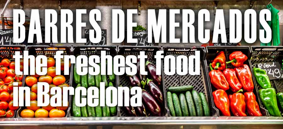 Fresh food in barcelona