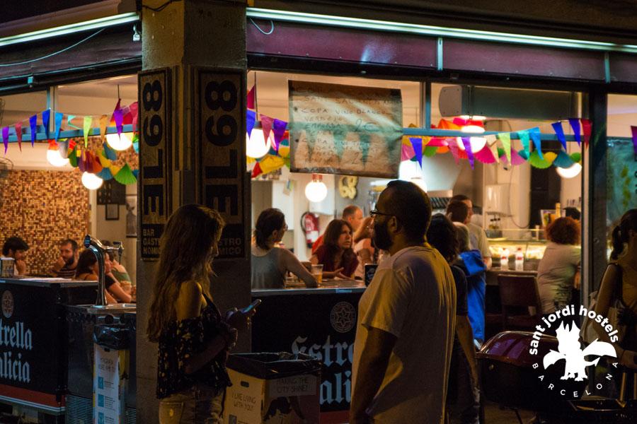 trendy bars in the gracia barcelona