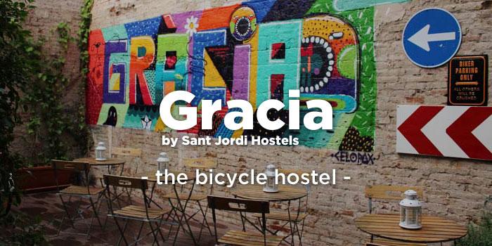 Gracia hostel button