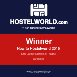 HOSCAR awards winner 2015 new to hostelworld