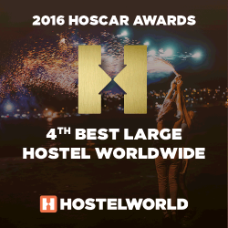 HOSCAR Awards 2016 - best large hostel worldwide