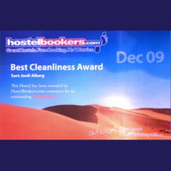 Hostelbookers Award 2009 - Best Cleanliness Award