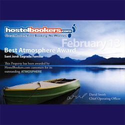 best atmosphere award 2013 hostelbookers