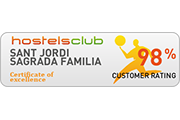 hostels club award sagrada familia hostel barcelona