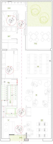Plans_sant-jordi-hostel-gracia_2