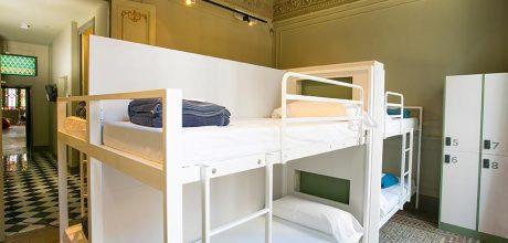10-bed dorm - rock palace hostel barcelona