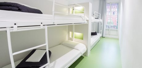 4-bed dorm - rock palace hostel barcelona