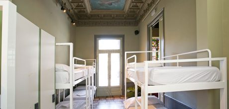 8-bed dorm - rock palace hostel barcelona