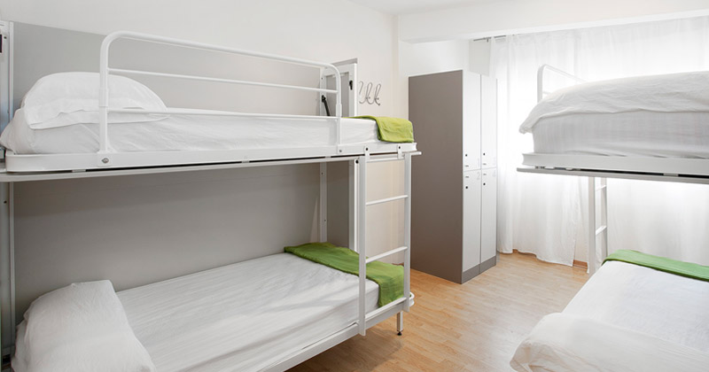 4-bed dorm - apt sagrada familia apartments by sant jordi hostels