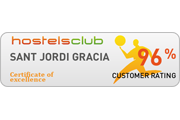 hostelsclub award gracia hostel barcelona