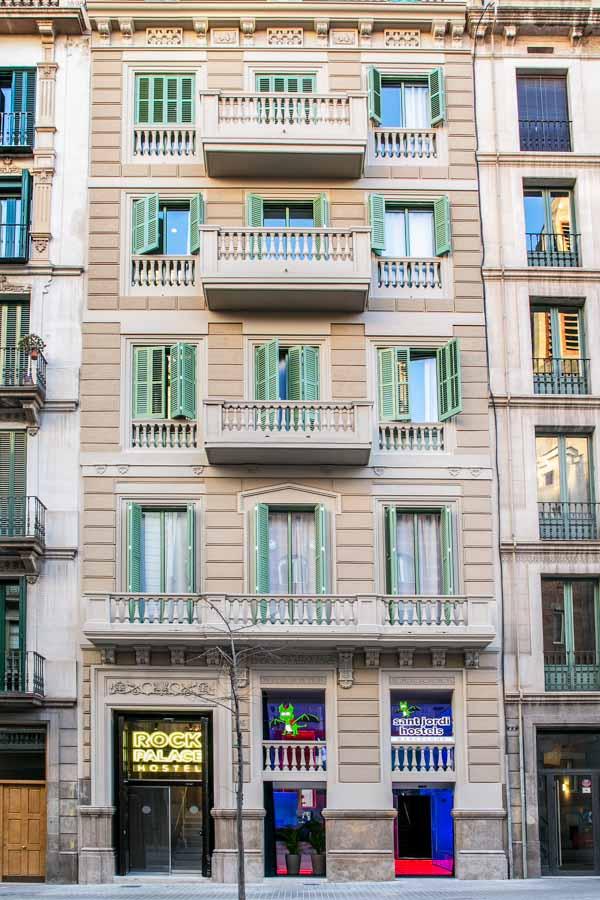 Sant Jordi Hostel Rock Palace Barcelona Hostel-25