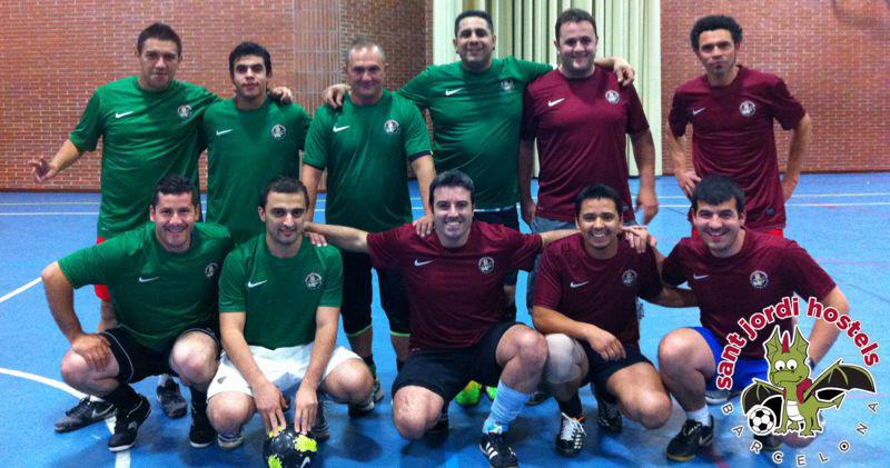 Sant Jordi Hostels Barcelona Football Team