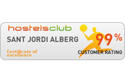 hostelclub awards sant jordi alberg