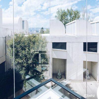 vistas desde la fundación Joan Miró