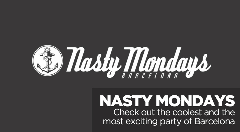 Nasty Modays Barcelona - cover