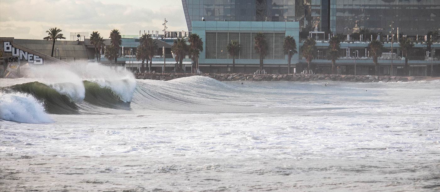Barcelona Surf Spots - banner