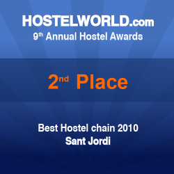 HOSCAR Award 2010 - best hostel chain in the world