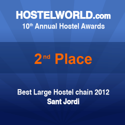 HOSCAR Award - best hostel chain 2012