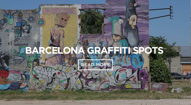 Best Graffiti Spots In Barcelona Sant Jordi Hostels