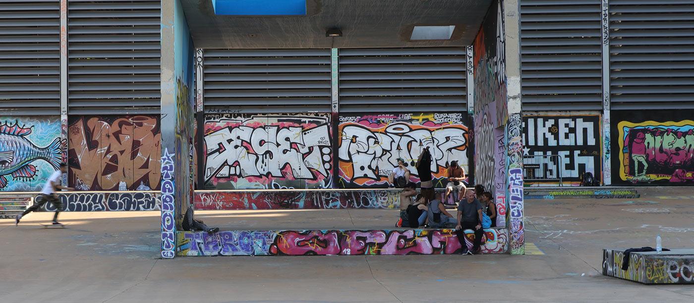 The Best Graffiti Spots In Barcelona