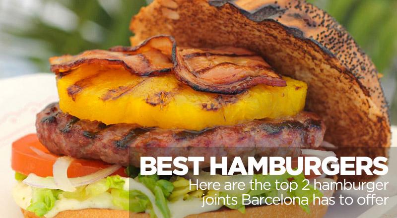 best hamburgers in barcelona