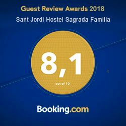 Booking Guest Review Awards 2018 Sagrada Familia
