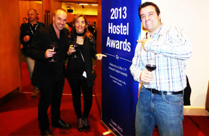 Sant Jordi Hostels Barcelona at the Hoscars 2013_hostelworld event Dublin