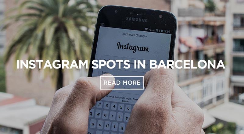 The 5 Best Instagram Spots in Barcelona - Sant Jordi Hostels