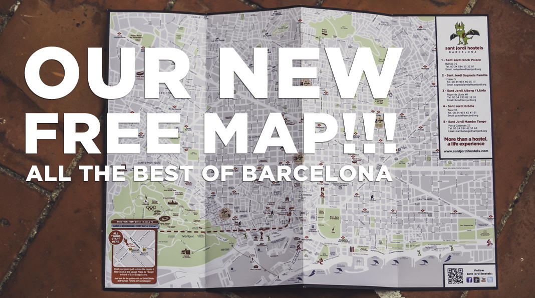 sant jordi hostels_ free map