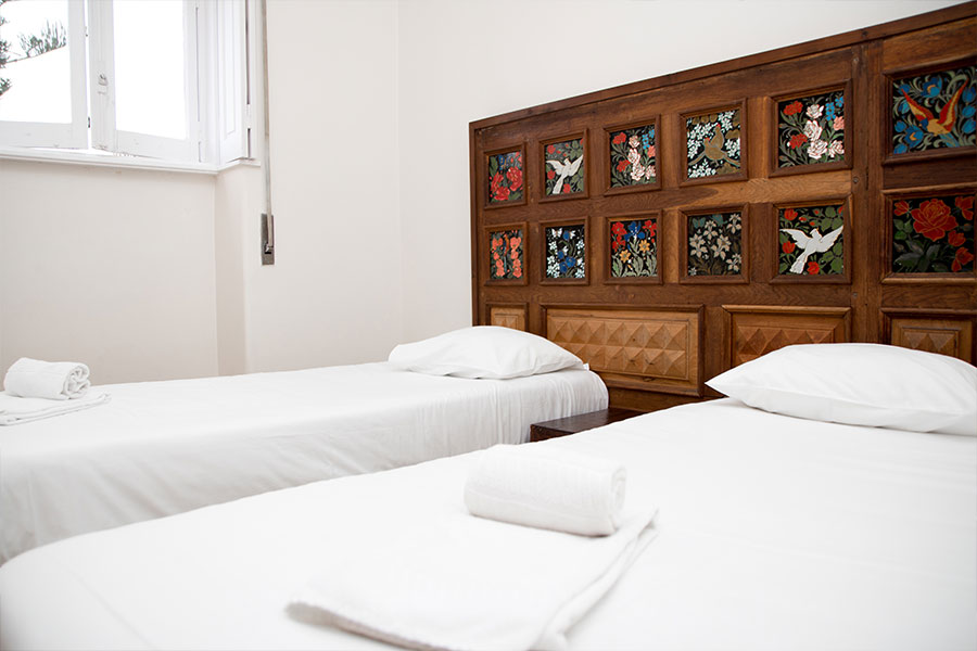 Sant jordi hostels lisbon twin room