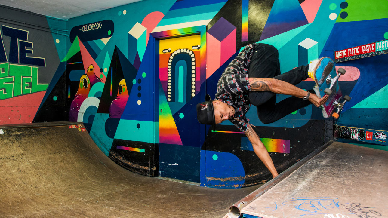 skate hostel in Barcelona