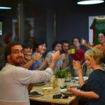 Sant Jordi Hostels Barcelona Dinner