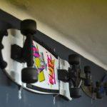 sant jordi hostels skate decorations