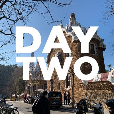 Barcelona in three days - Day two